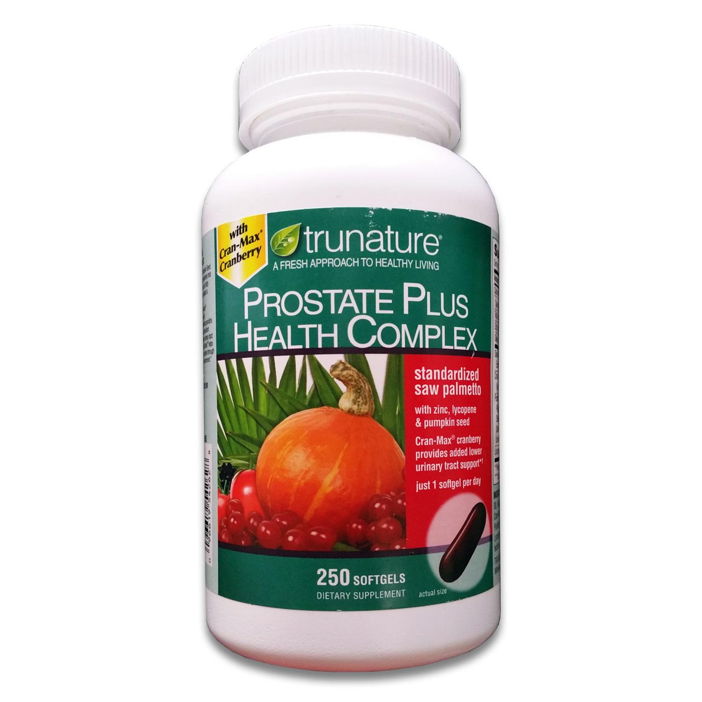 Trunature Prostate Plus Health Complex - 250 Softgels 0