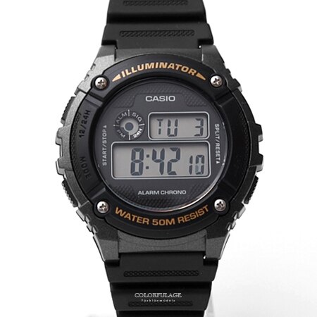 CASIO卡西歐 時尚運動電子錶 柒彩年代【NEC15】單支 - 限時優惠好康折扣