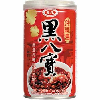 愛之味沖繩島黑八寶3罐/組 【合迷雅好物商城】