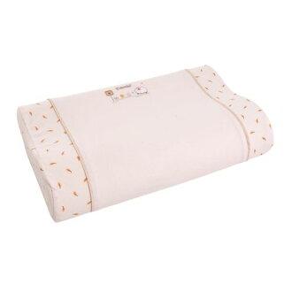 ★衛立兒生活館★康貝 Combi 有 機棉兒童枕+枕套(米)
