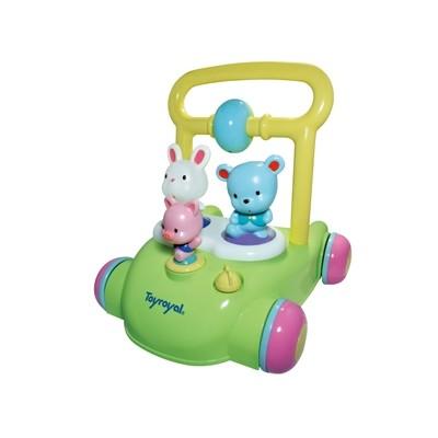 『121婦嬰用品館』樂雅 動物音樂助步車
