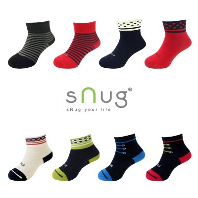 Snug- 除臭健康童襪 健康消臭除臭襪  / 多段尺寸  / 舒適無痕  / 襪口不鬆脫滑落  / 小孩襪 羽嵐服飾 - 限時優惠好康折扣