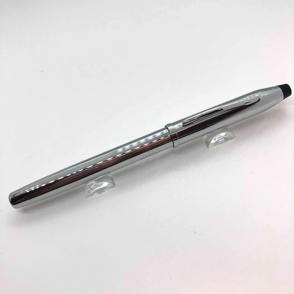 高仕CROSS-鋼珠筆-新世紀系列-3504-亮鉻