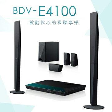 <br/><br/>  SONY BDV-E4100 3D 藍光家庭劇院 NFC / WIFI 公司貨<br/><br/>