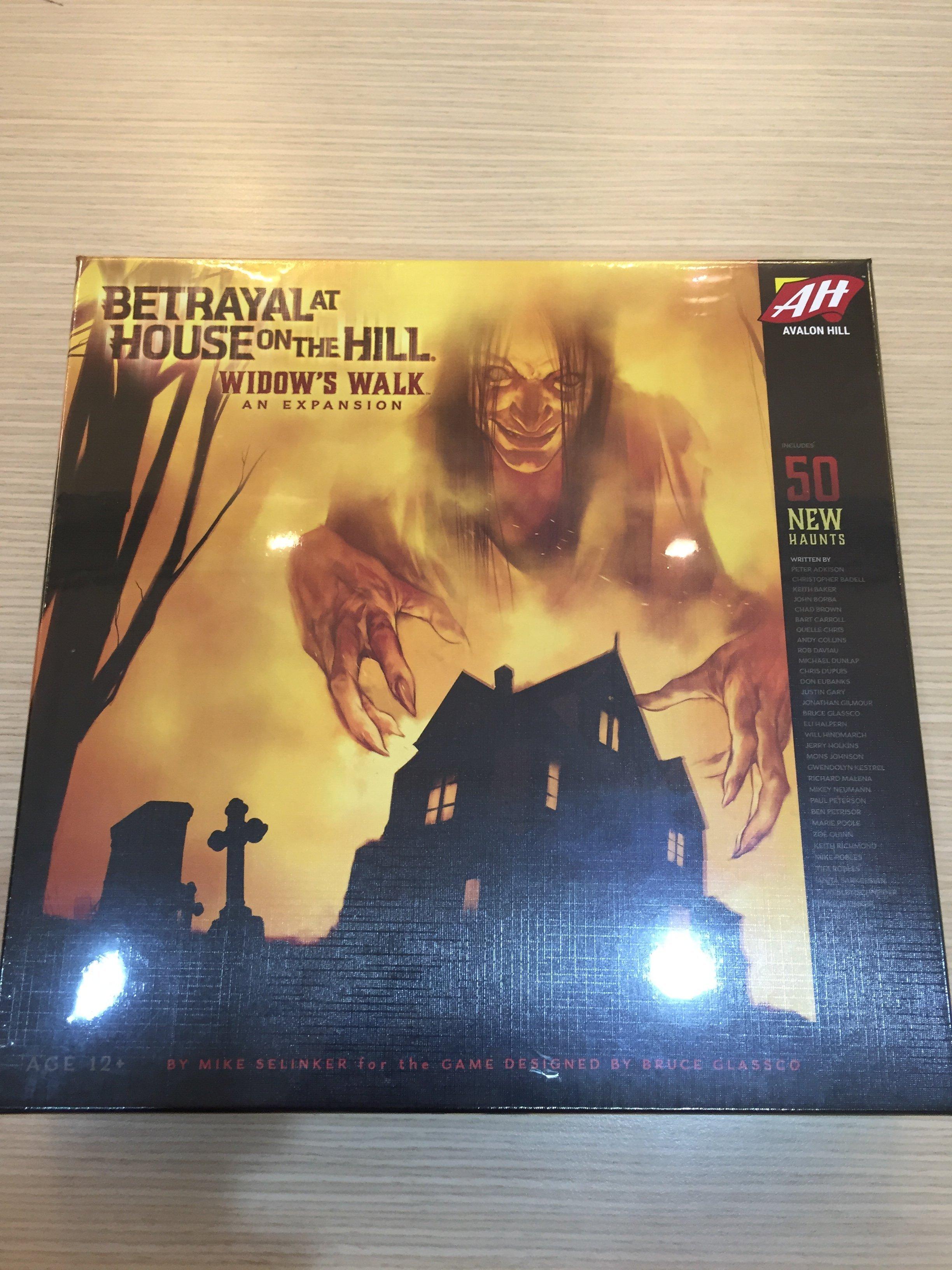 【桌遊侍】山中小屋擴充 女巫詭步 Betrayal at House on the Hill: Widow\