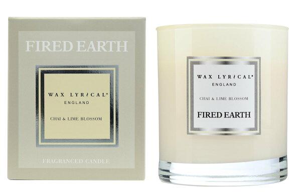 英國WaxLyrical玻璃蠟燭禮盒-印度奶茶與青檸花(可燃50小時)