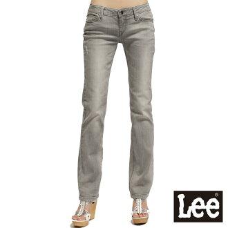 【單一價↘899】Lee 425 Lynn 超低腰修身直筒牛仔褲 -女款(中淺灰)