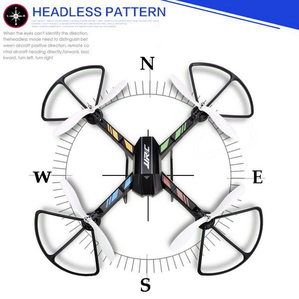 2.4GHz 4 Channels 6 Axis Gyro Eversion CF mode One Key Automatic Return with Light RC Quadcopter 2