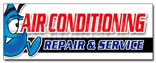 "36"" AC REPAIR & SERVICE DECAL sticker hvac air conditioning estimates finance 0dd92d276ce2edf14f92a26783eb3b21"