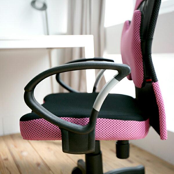 辦公椅 / 電腦椅 / 書桌椅 厚座高靠背網辦公椅(附腰墊)5色 MIT台灣製 現領優惠券 完美主義 【I0207-A】 4
