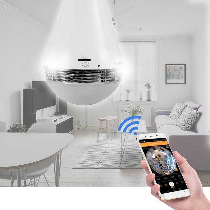 360 degree Panoramic 960P wifi Security Camera 1