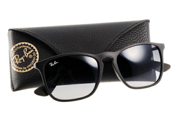 Ray Ban 雷朋 黑邊黑鏡 RB4187 太陽眼鏡 0