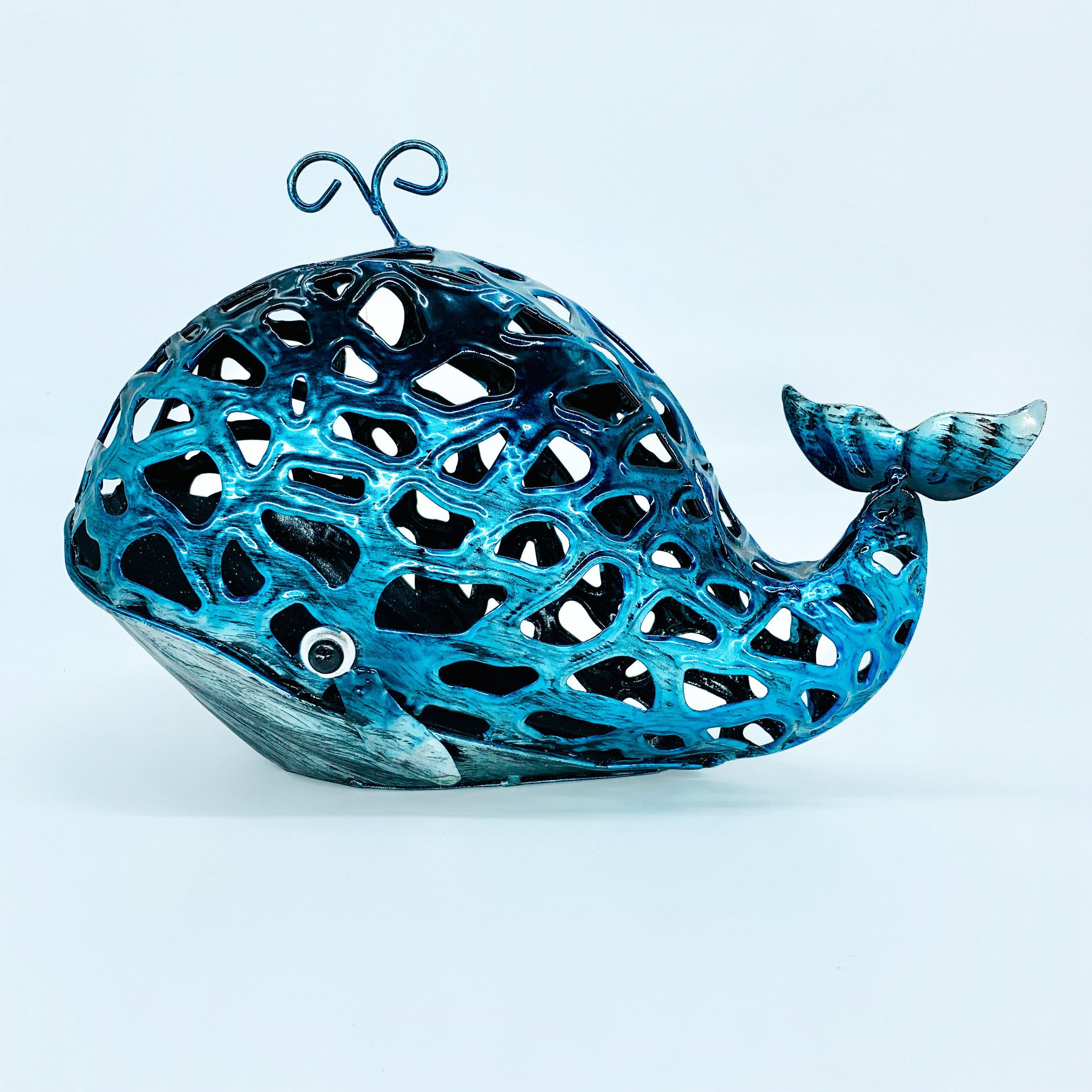 日本高山 動物可愛 (鯨魚 )日本直送 日本設計 生鐵手作擺飾 1