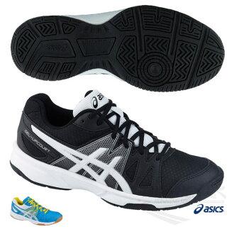 ASICS亞瑟士 男排羽球鞋GEL-UPCOURT (黑灰) 室內鞋 【 胖媛的店 】