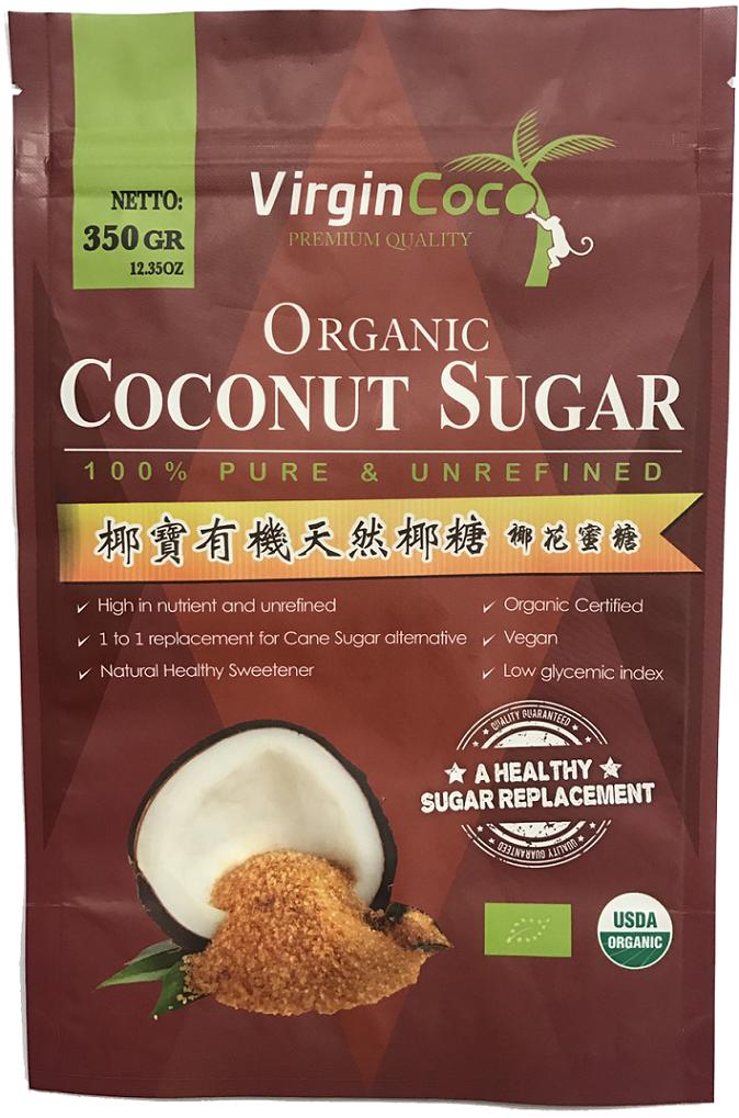 椰寶有機天然椰糖【350g*1袋】 - 限時優惠好康折扣
