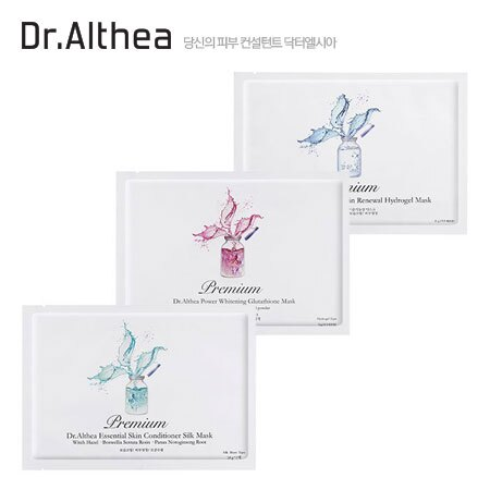 韓國 Dr. Althea 艾醫生 水光針蠶絲精華液面膜 單片入 35g 嫩白/補水/鎮定 精華液 蠶絲 面膜【B062132】