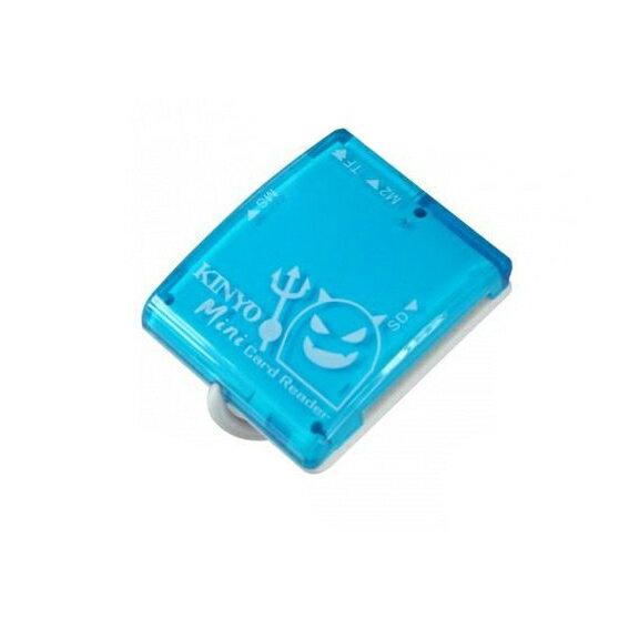 價 讀卡機 耐嘉 KINYO KCR~316 天使  惡魔Mini多合一讀卡機 SD卡  電腦  手機  筆電  辦公用品  文具用品