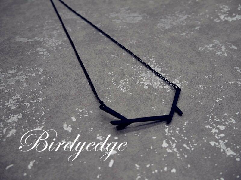 <br/><br/>  【BIRDYEDGE】 樹枝 文藝 復古 項鍊 男 項鍊 男女 項鍊<br/><br/>