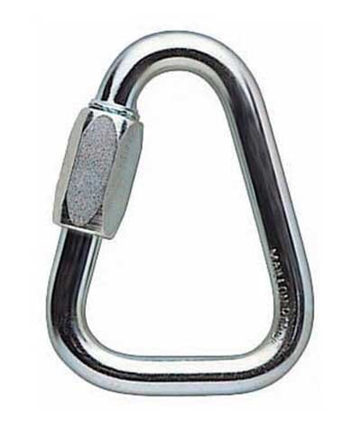 【鄉野情戶外專業】 Petzl |法國| DELTA n10 三角形帶鎖鉤環 三角形環扣 10mm_P11