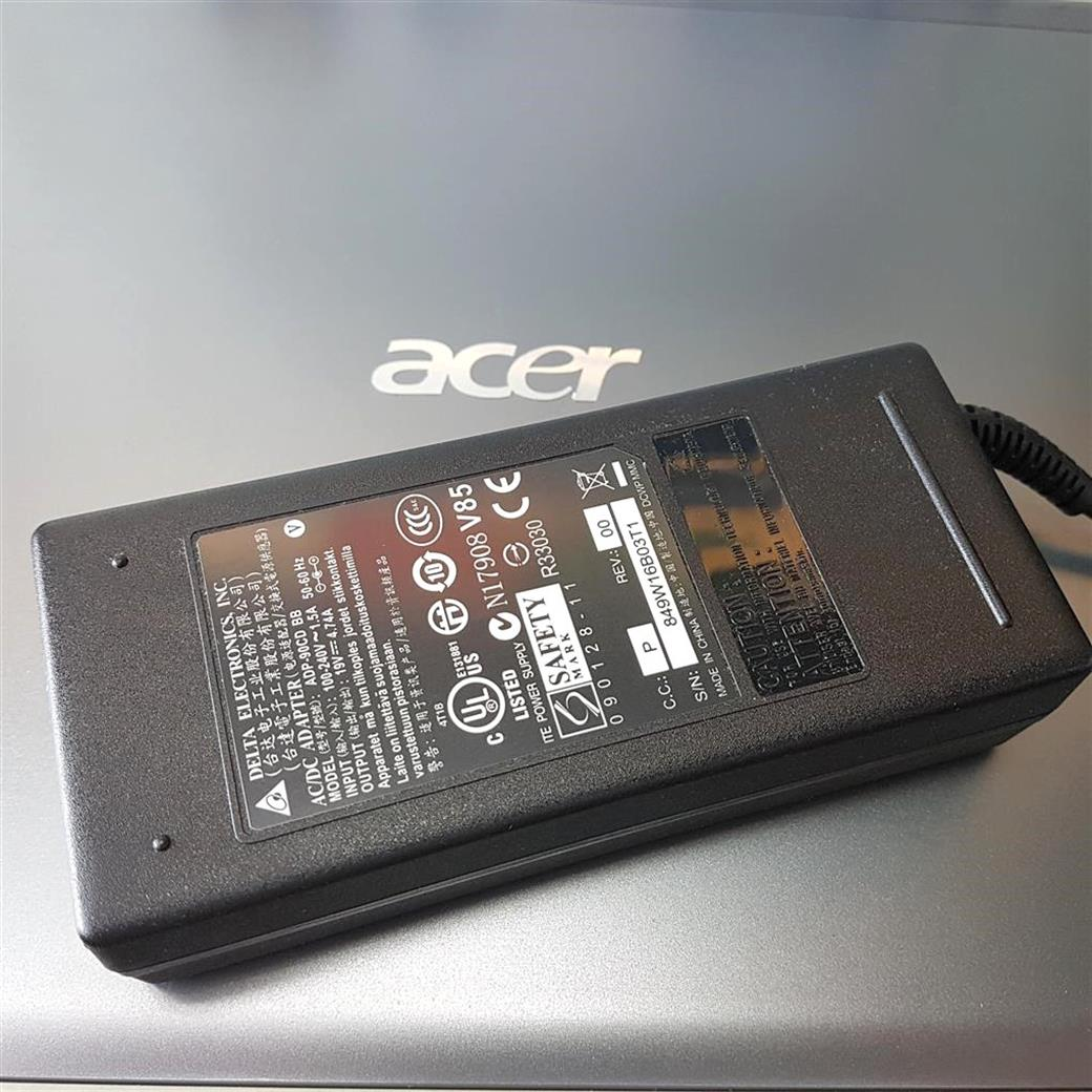 筆電達人 ACER 90W 原廠規格 變壓器 TravelMate 2460 2470 2480 2490 260 280 290 3000 310 3001 3002 3010 3020 3030...