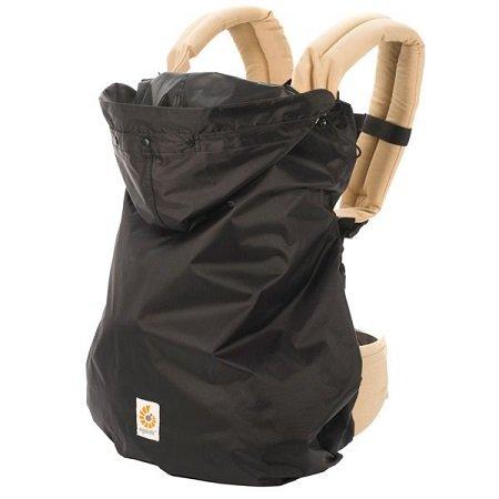 【淘氣寶寶】【總代理公司貨】美國 Ergo Baby ergobaby 功能型系列 防雨防風罩(黑色)