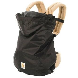 【淘氣寶寶】【總代理公司貨】美國【ErgoBaby】功能型系列 防雨防風罩(黑色)
