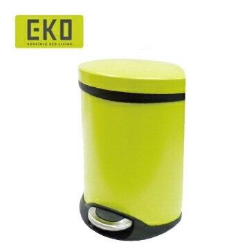 EKO海貝靜音垃圾桶 6L - 蘋果綠