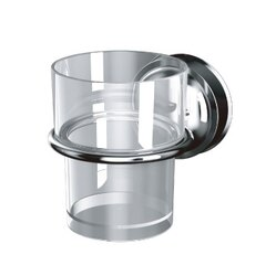 DeHUB 美式杯架x1-附透明杯 韓國吸盤 免鑽免釘 台灣總代理