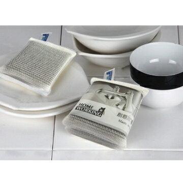 【HOME WORKING】餐具清潔海棉(扁型)