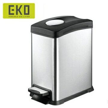 【HOME WORKING】EKO 樂享靜音垃圾桶-8L