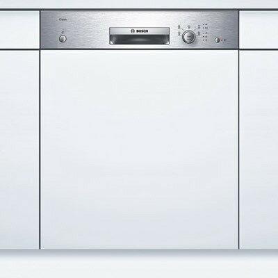 詢價再優惠!! BOSCH 半嵌式洗碗機 SMI53E15TC 不銹鋼旋鈕操作面板,5 種洗程