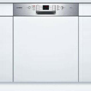 !!詢價再優惠!! BOSCH 半嵌式洗碗機 SMI63M05TC 不銹鋼按鍵操作面板,LED視窗