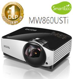 【滿額結帳折$200】BenQ MW860USTi 短焦互動式數位投影機 - 限時優惠好康折扣