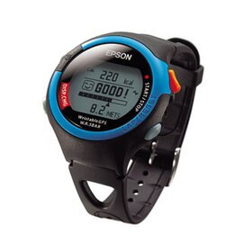 EPSON 鐵人腕式 GPS SS-301B 愛跑休閒型 運動手錶 9K初學者的最佳教練 中文化介面