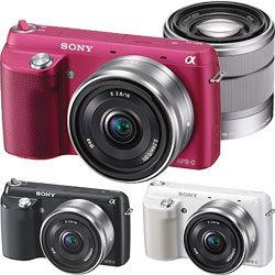 優惠出清 SONY NEX-F3D 雙鏡組 公司貨 ★贈8G卡+電池(共2顆)+保護貼+大清潔組+讀卡機 5好禮!!