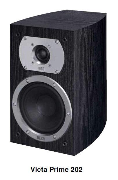 HECO 德國原裝進口喇叭 2音路低音反射式書架型喇叭 Victa Prime 202