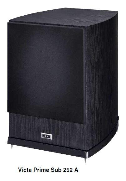 HECO 德國 喇叭 10  主動反射式超低音喇叭 Sub 252A