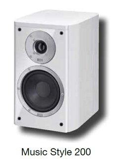 HECO 德國原裝進口喇叭 2音路低音反射式書架型喇叭 music style 200