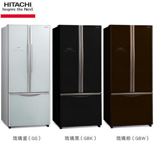 HITACHI 日立 421L 變頻三門 (上對開、下抽屜) 電冰箱 RG430/ 430 - 三色可選 金緻✶禮讚