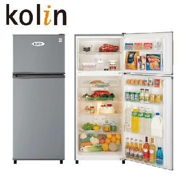 歌林 KOLIN 336L 雙門風扇式電冰箱 KR-23401-DS 壓縮機三年保固 能源效率第3級