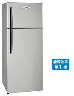 歌林 KOLIN 579L 雙門電冰箱 KR-258V01 變頻馬達、變頻壓縮機 能源效率:1級