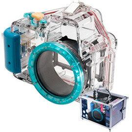 Kamera for Sony NEX-C3 (16mm) 潛水殼(藍)
