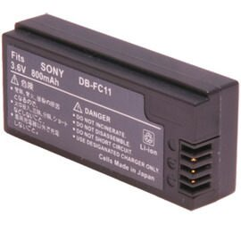 Kamera 佳美能 SONY NP-FC10 NP-FC11 相機電池 日本進口蕊心,外銷世界各地