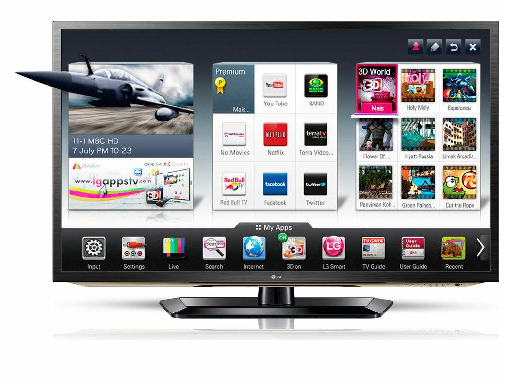 展示機最後搶購! LG 3D  55吋液晶電視 55LW6500