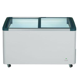 德國利勃 LIEBHERR 412公升 弧型玻璃推拉冷凍櫃 EFI-4153 (附LED燈)