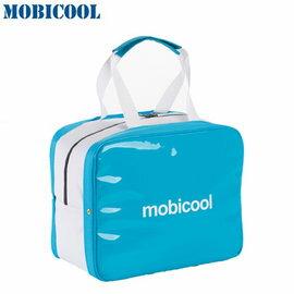 瑞典MOBICOOL義大利原創設計ICECUBEL保溫保冷輕攜袋(水藍色)