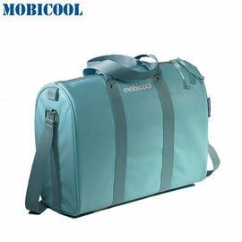瑞典 MOBICOOL 義大利原創設計 ICON 10 保溫保冷輕攜袋(水藍色)