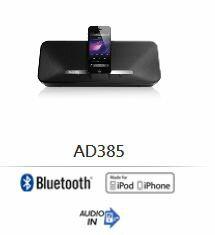PHILIPS飛利浦 iPhone/iPod/iPad 揚聲器 - AD385