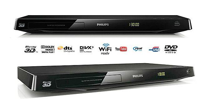 PHILIPS飛利浦3D RMVB藍光DVD播放器 BDP3380