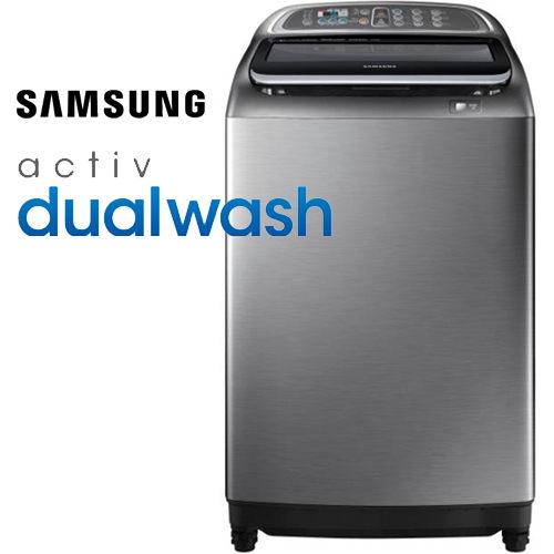 ★限量送三洋14吋遙控立扇! SAMSUNG 三星 WA15J6750SP/TW 15KG 雙效手洗 洗衣機